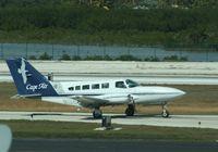 N1361G @ KEYW - Cessna 402C
