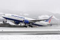 EI-UNZ @ LOWS - Transaero Airlines - by Martin Nimmervoll