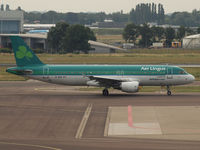 EI-DEN @ AMS - Taxi to the runway 24 of Amsterdam Airport - by Willem Göebel