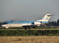 PH-KZG @ EHAM - Landing on runway R18 of Schiphol Airport - by Willem Göebel