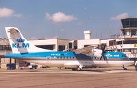 PH-XLE @ EBAW - KLM EXEL - by Henk Geerlings