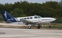 N67886 @ KEYW - Cessna 402C