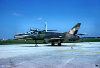56-3883 @ ACY - Michigan ANG 107th TFS / 127th TFW - two seater F-100F, on the NAFEC ramp. - by John Hevesi