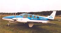 PH-BYB @ EHGR - KLM Flight School - by Henk Geerlings