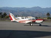 N856CC @ OXR - 1964 Piper PA-24-260 Comanche,  Rajay Turbocharger upgrade, Lycoming TIO-540-R1A5 260 Hp. Piper built production PA-24-260TC Turbo Cs with a Lycoming IO-540-N1A5 from 1970-72. - by Doug Robertson
