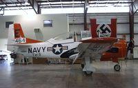 140064 - North American T-28C Trojan at the Pueblo Weisbrod Aircraft Museum, Pueblo CO