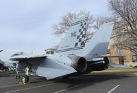 159829 - Grumman F-14A Tomcat at the Wings over the Rockies Air & Space Museum, Denver CO - by Ingo Warnecke
