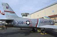 53-1308 - North American F-86H Sabre at the Wings over the Rockies Air & Space Museum, Denver CO