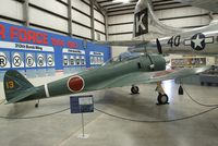 6430 - Nakajima Ki-43-IIb Hayabusa at the Pima Air & Space Museum, Tucson AZ