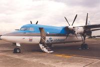 PH-KVD @ EBAW - KLM cityhopper - by Henk Geerlings