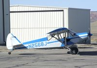N2568J @ CNY - Piper PA-18-150 Super Cub at Canyonlands Field airport, Moab UT