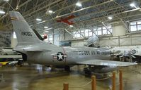 51-6055 - North American F-86L Sabre at the Hill Aerospace Museum, Roy UT - by Ingo Warnecke