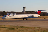 N919DL @ ORF - Delta Air Lines N919DL taxiing to RWY 23 for departure to Hartsfield-Jackson Atlanta Int'l (KATL) as Flight 2123. - by Dean Heald