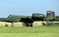 80-0195 @ EGVJ - departure from RAF Bentwaters