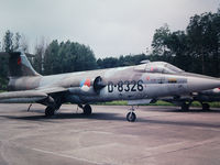 D-8326 @ EHYB - Starfighter D-8326 at The Hague photographed by Edwin van Opstal, displayed with permission. Scanned from a color slide. - by red750