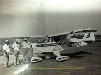 N5334Z @ 8TS2 - Taken on September 12, 1967 on Myers Field, Henrietta, Texas. - by George Pierce