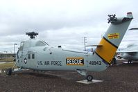 148943 - Sikorsky SH-34J Seabat / HH-34J Choctaw at the Hill Aerospace Museum, Roy UT - by Ingo Warnecke