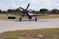 N251MX @ GIF - 1943 North American P-51C N251MX at Gilbert Airport, Winter Haven, FL - by scotch-canadian