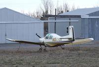 N9771M @ U56 - Mooney M.10 Cadet at Rigby-Jefferson County airport, Rigby ID - by Ingo Warnecke