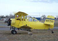 N9755 @ U56 - Grumman G-164A Ag-Cat at Rigby-Jefferson County airport, Rigby ID - by Ingo Warnecke