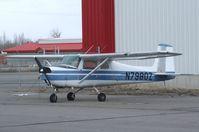 N7980Z @ KRXE - Cessna 150C at Rexburg-Madison County airport, Rexburg ID