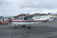 N4608C @ KRXE - Cessna T210N Turbo Centurion II at Rexburg-Madison County airport, Rexburg ID