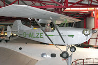 G-ALZE - The prototype Britten-Norman BN-1F, c/n: 1 at Solent Sky Museum , Southampton