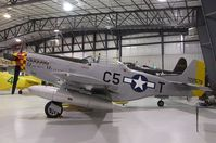 N551BJ @ KRXE - Cavalier F-51D Mustang at the Legacy Flight Museum, Rexburg ID