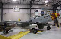 N551BJ @ KRXE - Cavalier F-51D Mustang at the Legacy Flight Museum, Rexburg ID