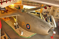 TG263 - Saunders Roe SR.A.1, c/n: G-12-1 Jet Flying Boat at Solent Sky Museum at Southampton
