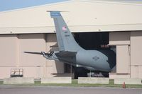 63-8045 @ MCF - KC-135 tail - by Florida Metal
