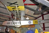 XN246 - Slingsby T-31B Cadet TX3, c/n: 1185 at Solent Sky Museum , Southampton