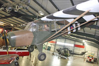 TJ569 - Auster 5 , TJ569 , at Army Flying Museum at Middle Wallop