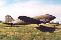 A65-71 - Australian War Memorial Heritage Dakota VHCIN.Photo taken during the Tasmania Skyraces , Valleyfield. - by Henk Geerlings