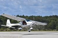 N208GX @ X04 - Crosswind landing at x04 - by ApopkaHangars.com