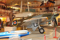 PK683 - Supermarine Spitfire F24, c/n: CBAF/236 - on of the last Spitfires to be produced - saw service with the RAF in Malaysia and now preserved at Solent Sky Museum, Southampton