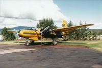 C-GWLT @ YXY - Photograph by Edwin van Opstal with permission. Scanned from a color print. Taken at Whitehose, Yukon, Canada. - by red750