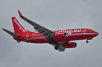 OY-MRF @ GCTS - Cimber Sterling's 1999 Boeing 737-7L9, c/n: 28009