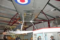 WZ753 - Slingsby Aircraft Co Ltd Grasshopper TX1, c/n: 749 at Solent Sky Museum , Southampton