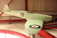 BAPC190 - Half scale Spitfire replica at Solent Sky Museum , Southampton - by Terry Fletcher