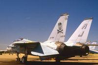 160414 @ KNTU - Low visibility paint scheme.  Photographed on the VF-84 flight line, NAS Oceana, VA,. - by Thomas P. McManus