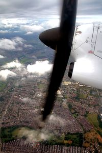 G-WOWD @ IN FLIGHT - Climbing out of Leeds/Bradford en-route Bristol  - by glider