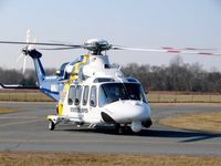 N9NJ @ N81 - Rolling for a Medflite - by SouthStar Aeromedical Helicopter