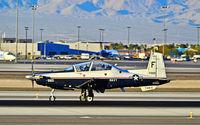 165985 @ KLAS - 165985 2001 Raytheon T-6A Texan II C/N PT-152 (TAW-6)  - Las Vegas - McCarran International (LAS / KLAS) USA - Nevada, February 10, 2012 Photo: Tomás Del Coro - by Tomás Del Coro
