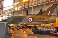 XK740 - Folland Gnat F1 (Fo-141), c/n: FL4 at Solent Sky Museum Southampton