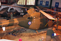 XX153 - 1972 Westland Lynx AH.1, c/n: 02/11 at Army Flying Museum at Middle Wallop