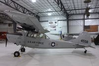 N305CM @ KRXE - Cessna 305C (O-1E Bird Dog) at the Legacy Flight Museum, Rexburg ID