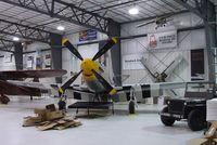 N2869D @ KRXE - North American P-51D Mustang at the Legacy Flight Museum, Rexburg ID