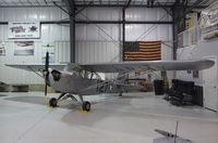 N48291 @ KRXE - Taylorcraft DCO-65 (L-2) at the Legacy Flight Museum, Rexburg ID