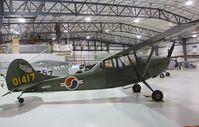 N5074H @ KRXE - Cessna 305A (L-19 Bird Dog) at the Legacy Flight Museum, Rexburg ID